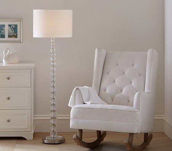 Monique Lhuillier Acrylic Floor Lamp Flooring
