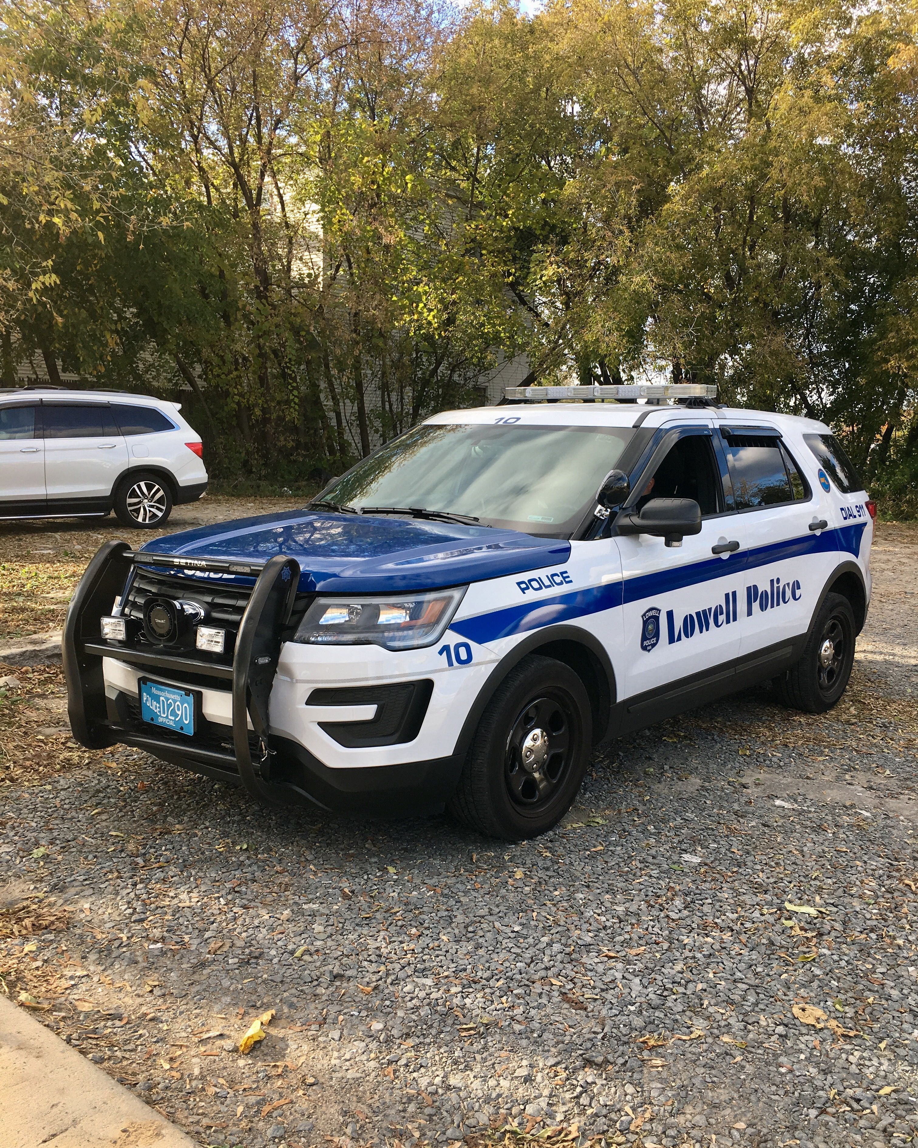 2016-2017 Lowell Police Department Ford Utility P I | Ford