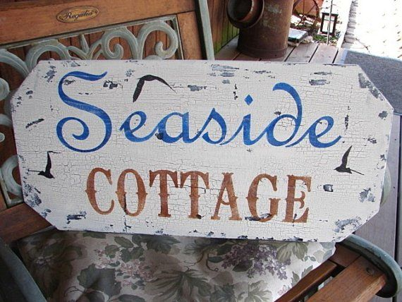 Beach Signs Decor Adorable Seaside Cottage Vintage Beach Signs Home Decorationfamilyattic Inspiration Design