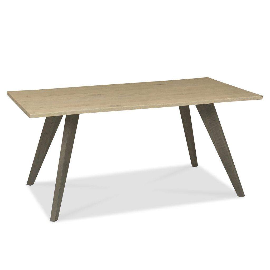 Brockley aged oak seater dining table kitchen table pinterest