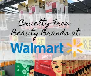 CrueltyFree Beauty Brands at Walmart Free beauty