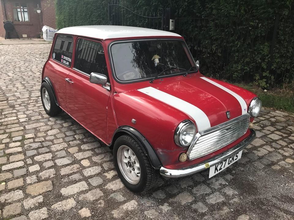 eBay 1993 Rover Mini Sprite 1275 Rally Look Classic Stage