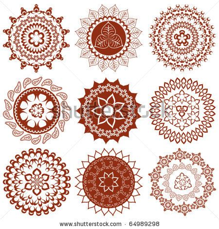 Henna Tattoo Designs And Meanings Mehndi Mandalas Elements