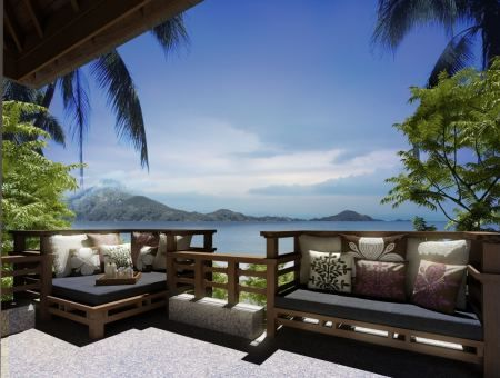 Wish you were here? Do you like this villa with a view?