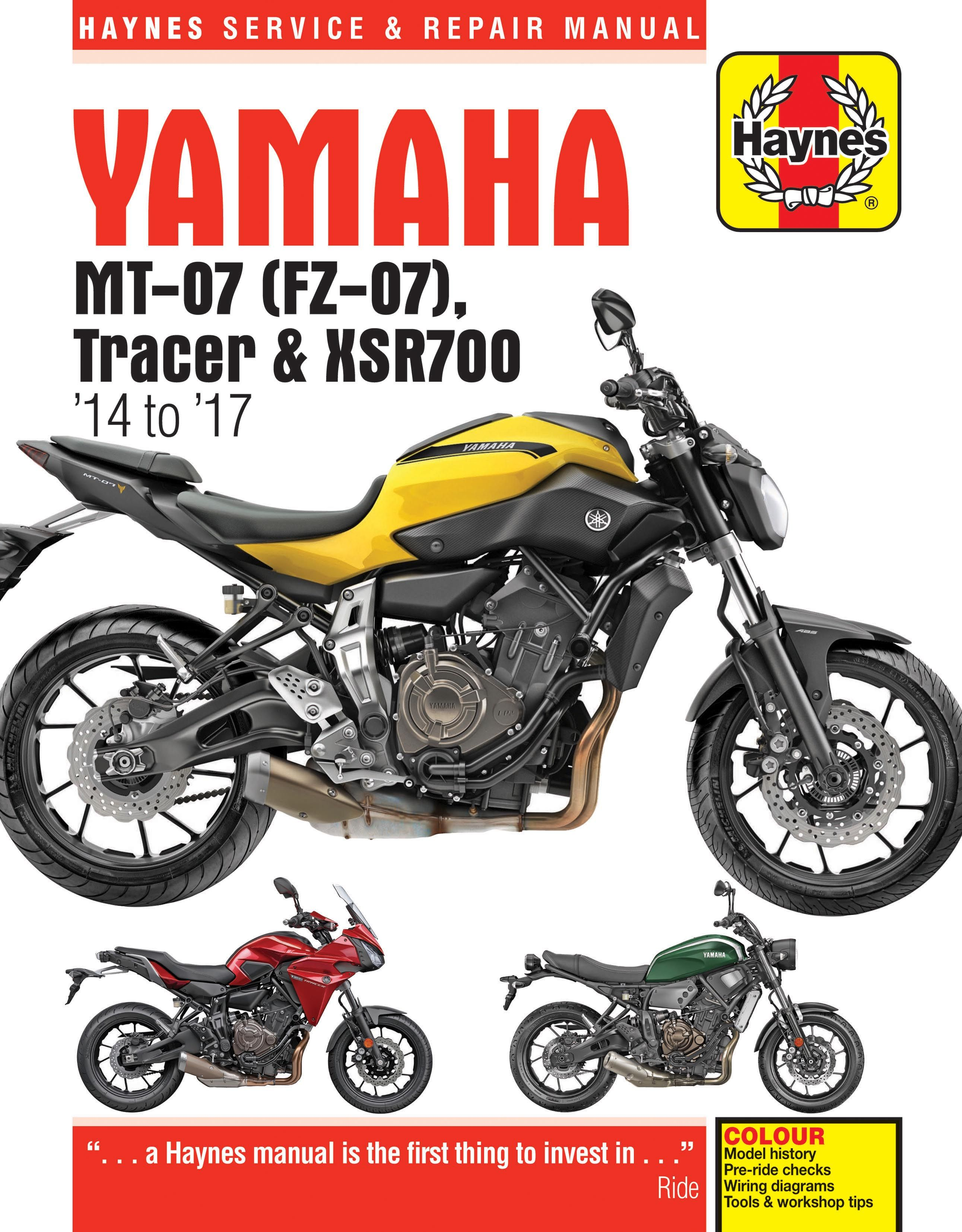 haynes launches manual for the yamaha mt 07 yamaha fz 07s pinterest rh pinterest com yamaha fzs 600 manual yamaha fzs manual pdf