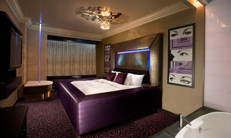 Themes For Rooms modern polynesian theme room - fantasyland hotel | bedroom's