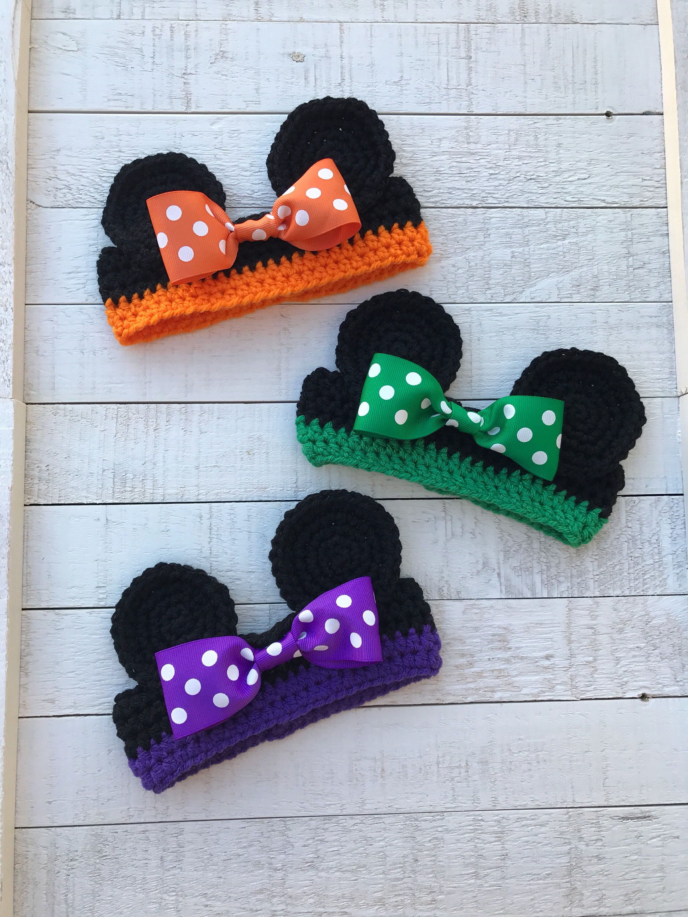 Headband ~ Minnie Mouse inspired ~ Minnie Baby Photo Prop ...