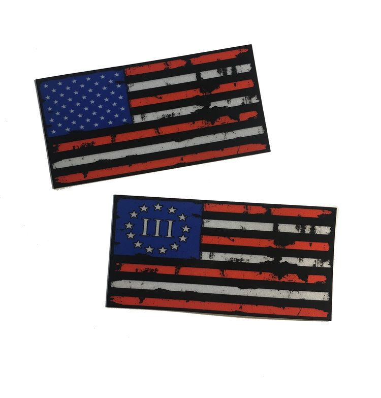 The Battle Torn Reflective American Flag Decal Choose Type 4 X 2 Empire Tactical Usa In 2020 American Flag Decal Flag Decal Window Stickers