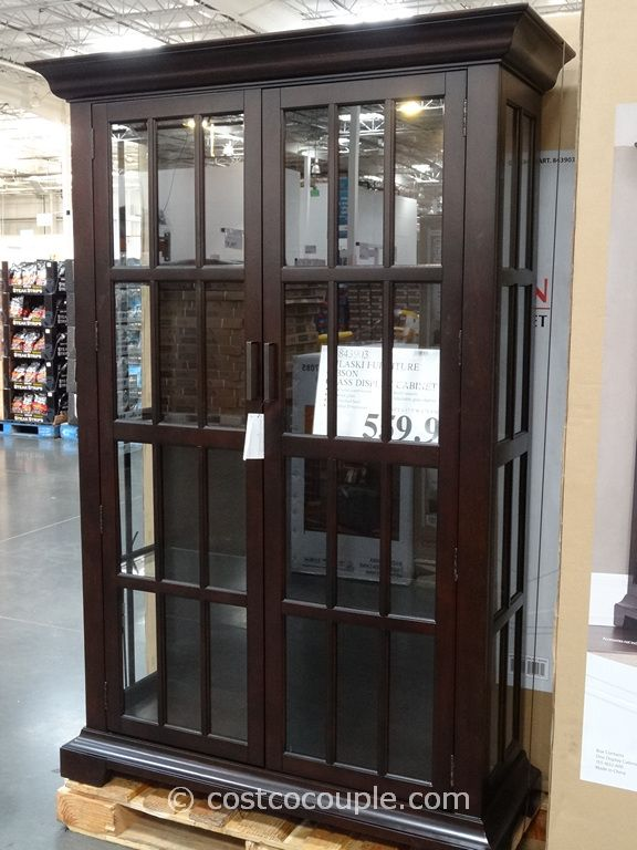 Ski Furniture Gibson Glass Display Cabinet Costco