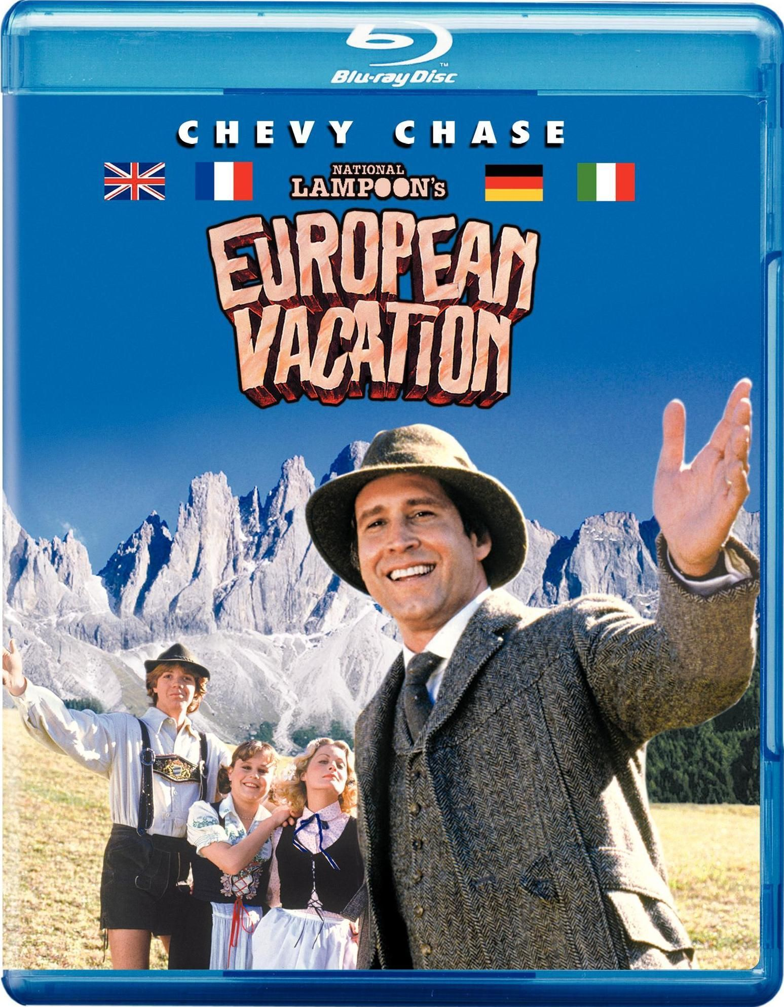 National Lampoon's European Vacation (Blu-ray) (With