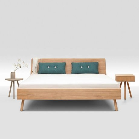 Oak Bed By Trecompany Monoqi Scandinavian Bed Frames Bed Styling Bed Design
