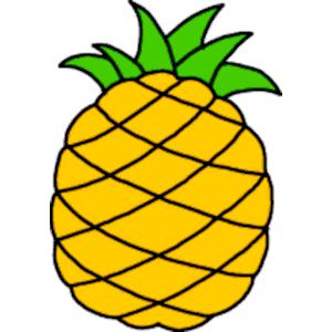Pineapple Clip Art - Tumundografico