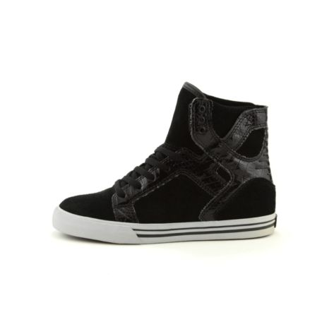 Tween Supra Skytop Athletic Shoe, Black, at Journeys Shoes