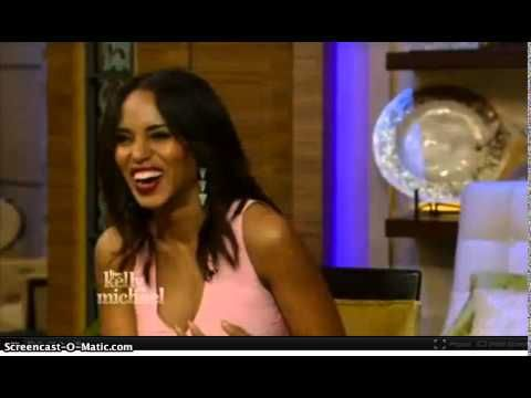 Kerry Washington Live with Kelly and Michael 23/09/2014 - http://hagsharlotsheroines.com/?p=54811