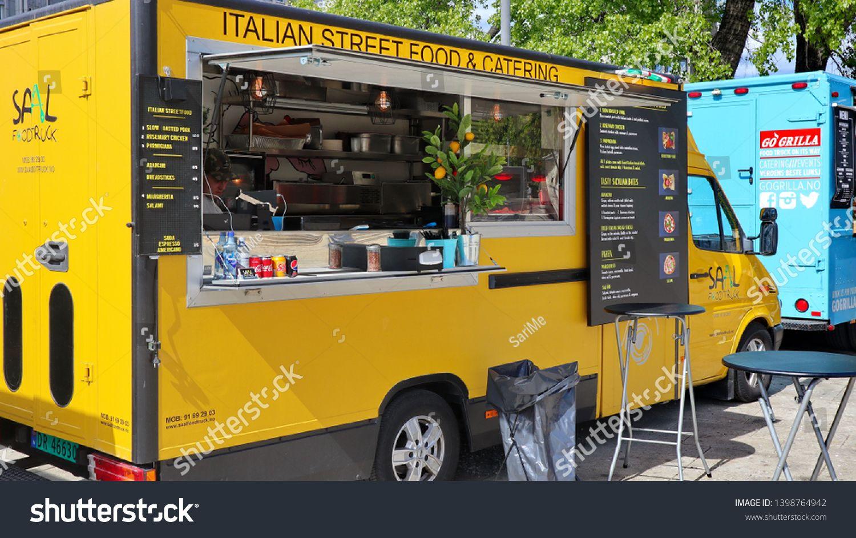 Oslo Norway 05 12 2019 Italian Street Food Truck In The Oslo Harbor In Springtime Sponsored Spon Oslo Norway I Italian Street Food Street Food Italian