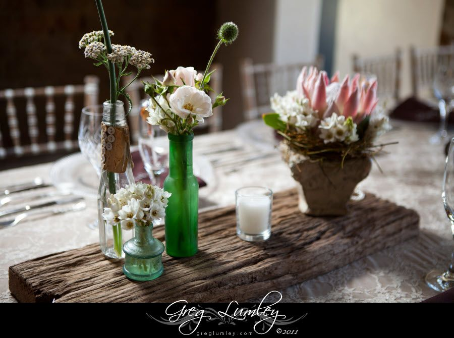 rustic wedding decorations Rustic stylish Wedding Decor using