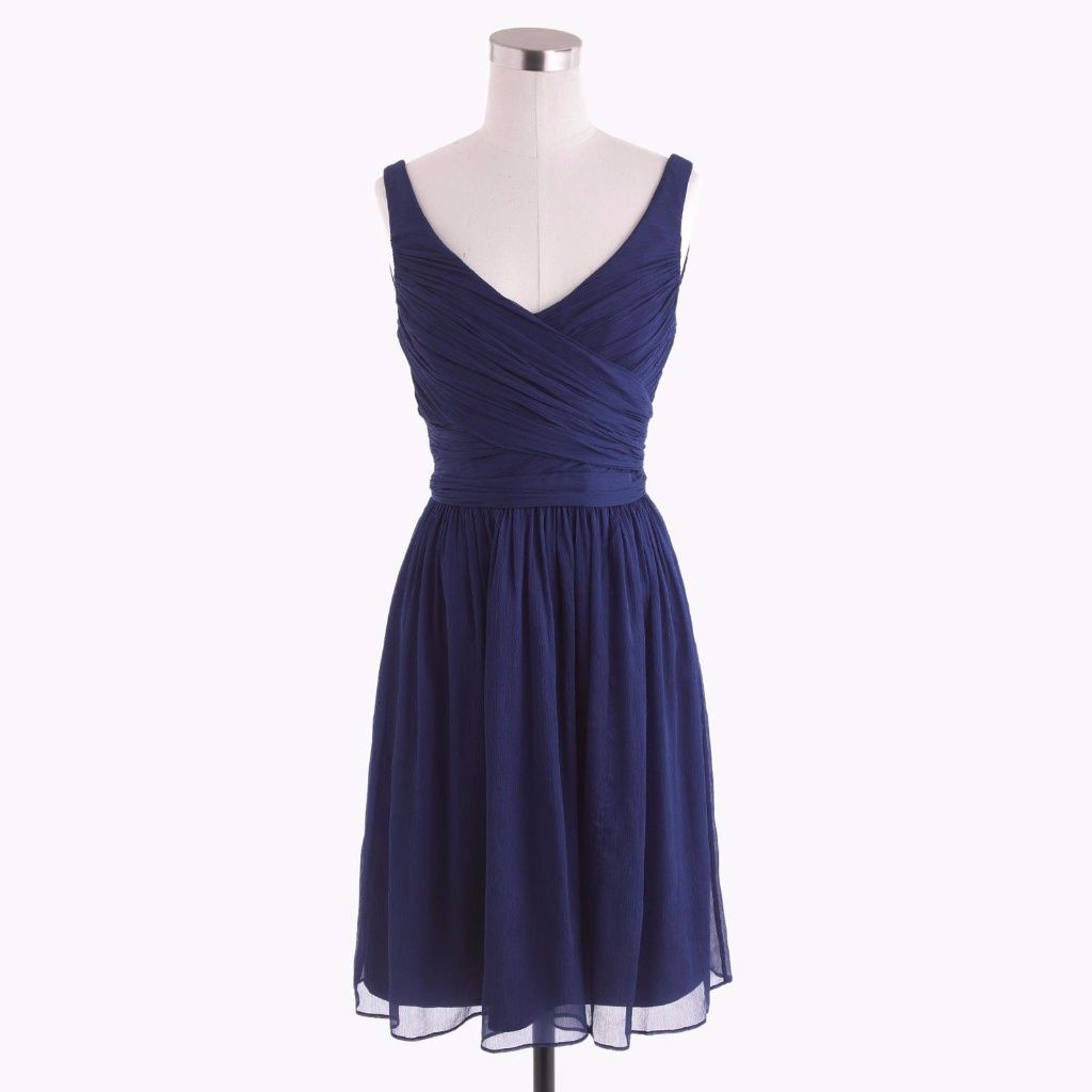 J crew heidi navy silk chiffon bridesmaid dress products j crew heidi navy silk chiffon bridesmaid dress ombrellifo Image collections