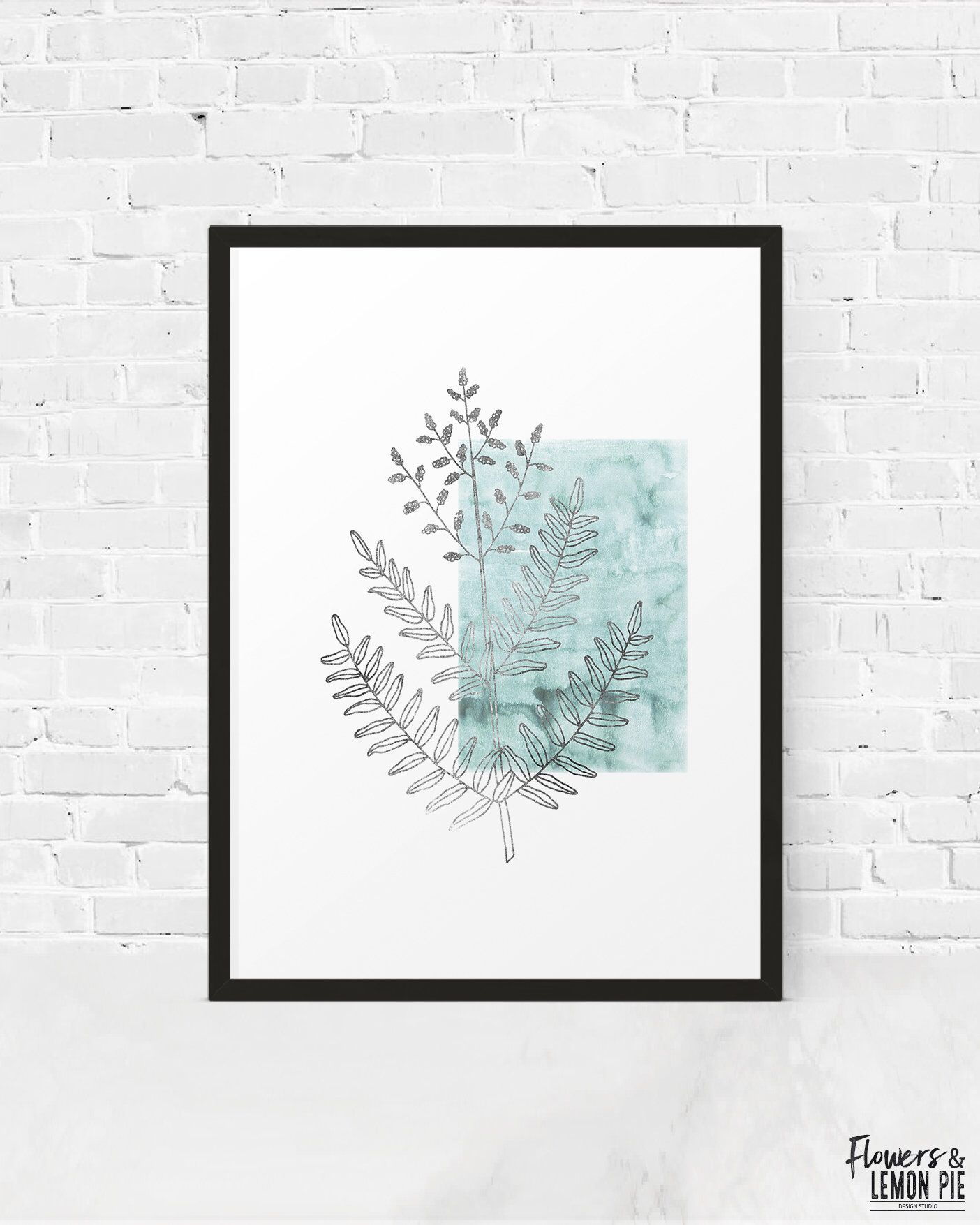Royal Fern Printable, Botanical Printable, Medicinal Herb Print ...