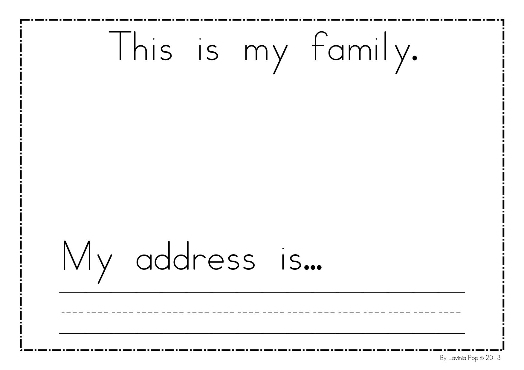 All About Me Week Cute Printables