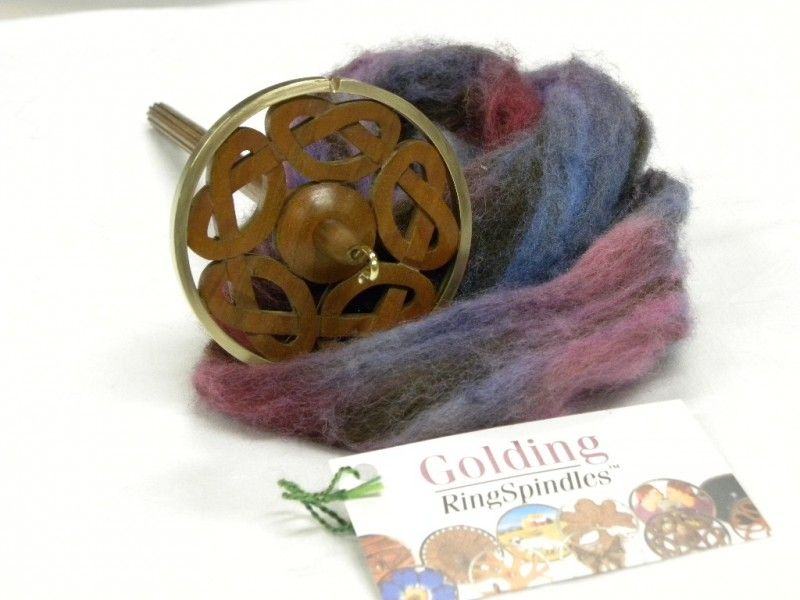 Golding spintol 3 inch Cherry Celtic Ring