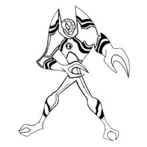 Ben 10 Lodestar Coloring Pages New Coloring Pages