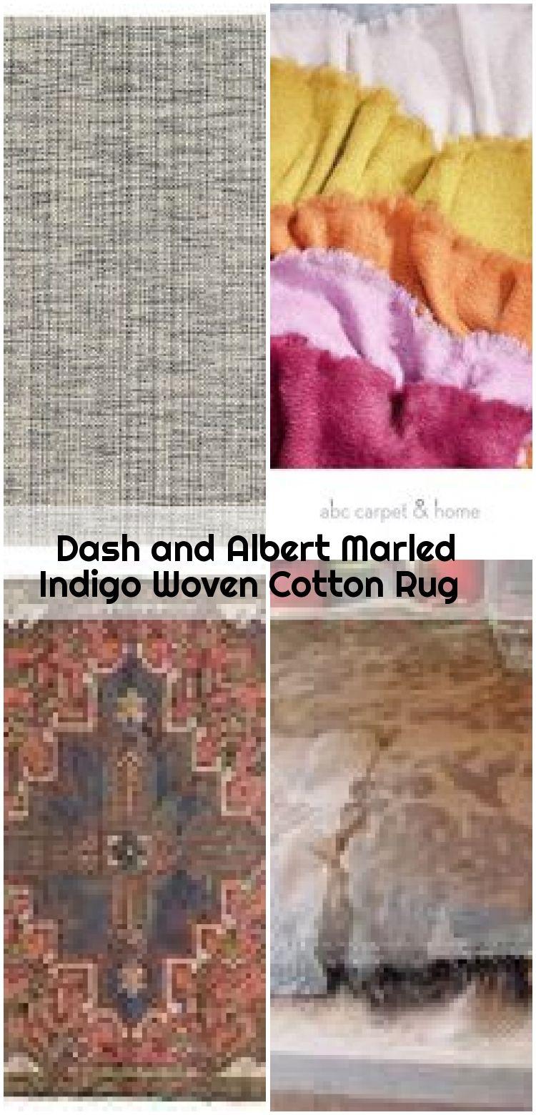 Dash and Albert Marled Indigo Woven Cotton Rug Dash and Albert Marled Indigo Woven Cotton Rug  Dash and Albert Marled Indigo Woven Cotton Rug Ships Free