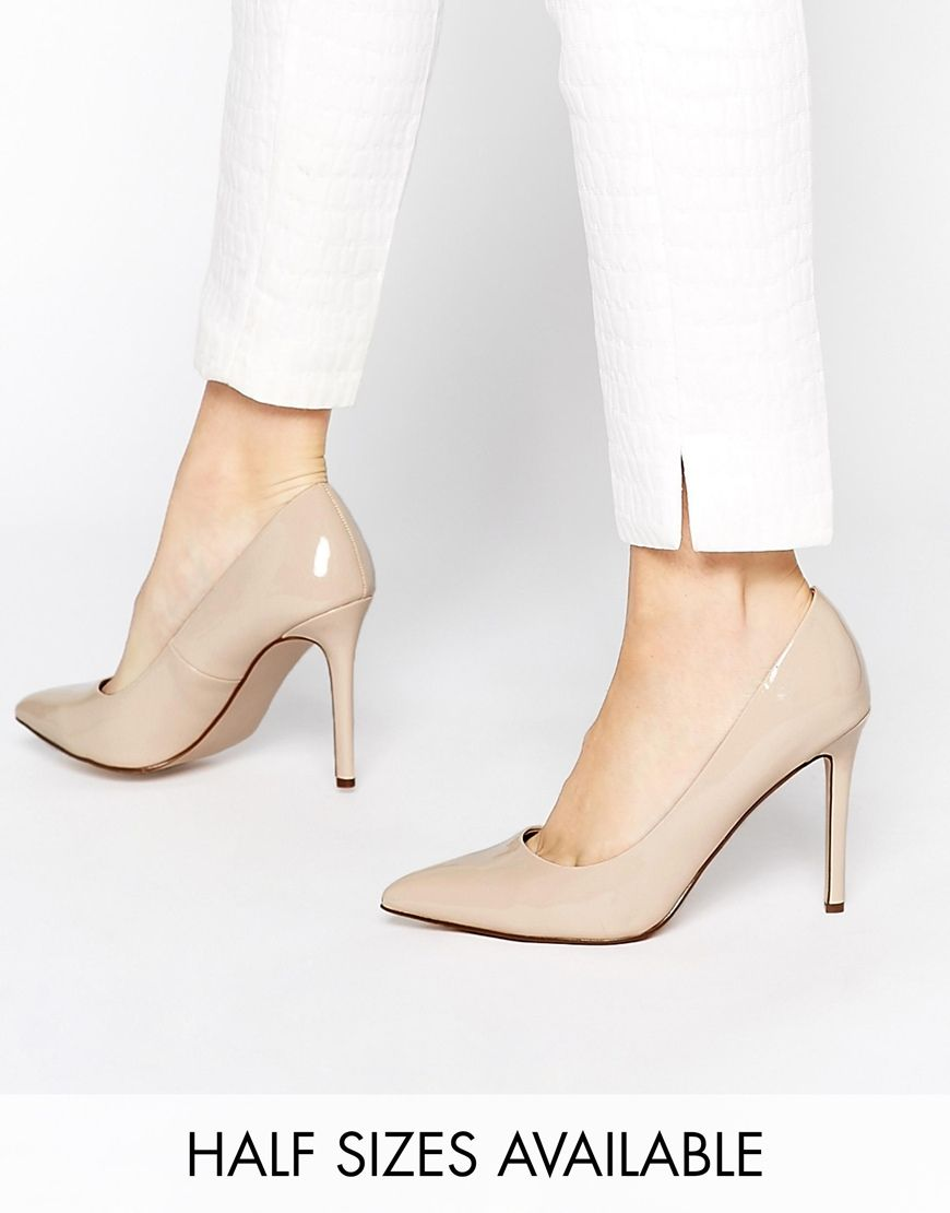 Nude Pointed High Heels | Tsaa Heel