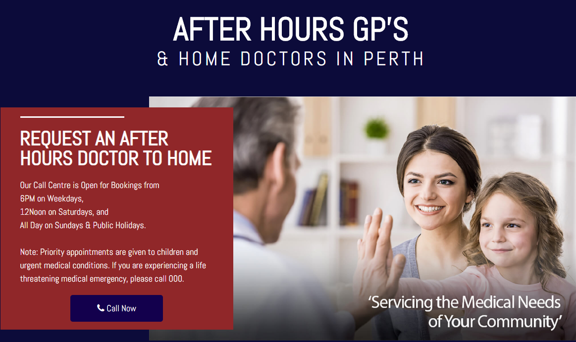 After Hours Home Doctor is an Accredited Medical