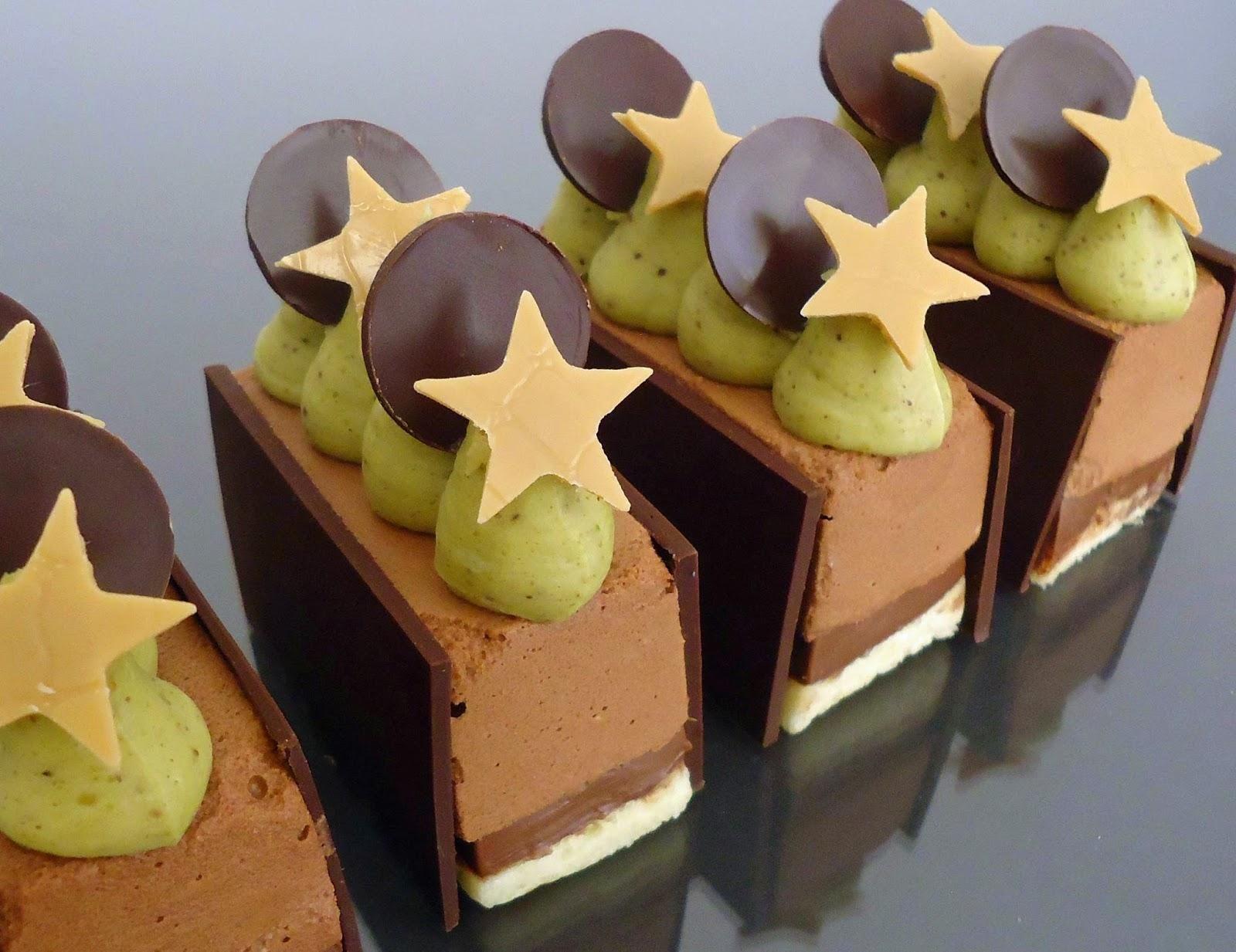 Idée Dessert Nouvel An Dessert du nouvel an : chocolat pistache   Paperblog | Dessert