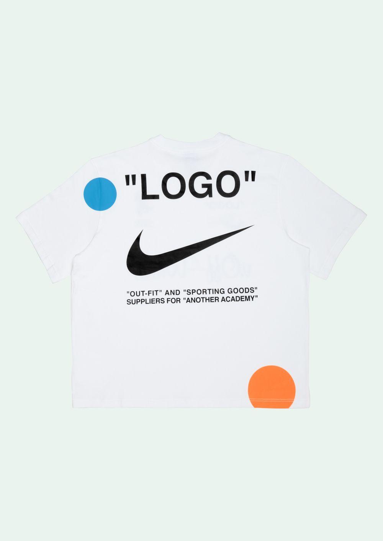 Off White T Shirt S S Offwhite White Graphic Tee White