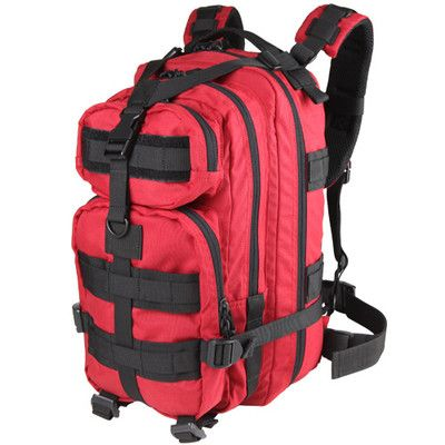 b9587e0df2be Condor Outdoor Compact Modular Style Assault Pack 126-010 Red on eBay!