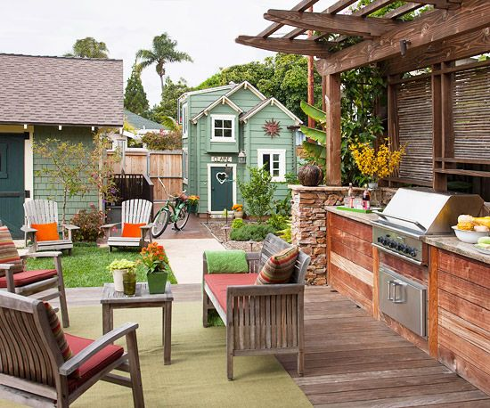 15 Tips For Outdoor Living Spaces @Better Homes And Gardens