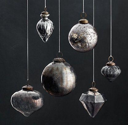 Ornaments | Restoration Hardware...aw... stunning - Ornaments Restoration Hardware...aw... Stunning Christmas Spirit