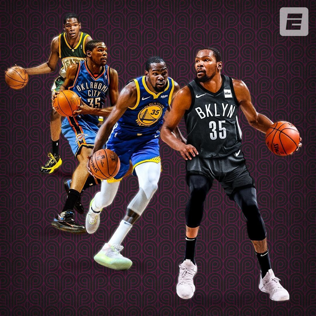 "ESPN on Instagram ""Kevin Durant plans to choose the"
