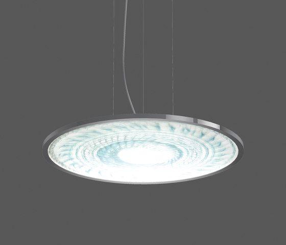 Sidelite round ferromurano pendant luminaires by rzb leuchten general lighting