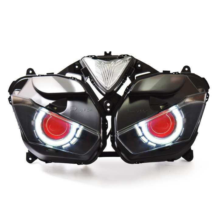 Wire Diagram For Motorcycle Demon Angel Headlight And Kt