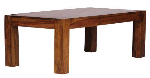 WOHNLING, Couchtisch, WL1211, Massiv-Holz Sheesham 110 cm breit