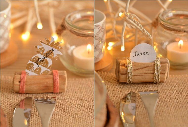 Candele Segnaposto Per Matrimonio.1001 Idee Per Segnaposto Matrimonio Spunti Da Copiare