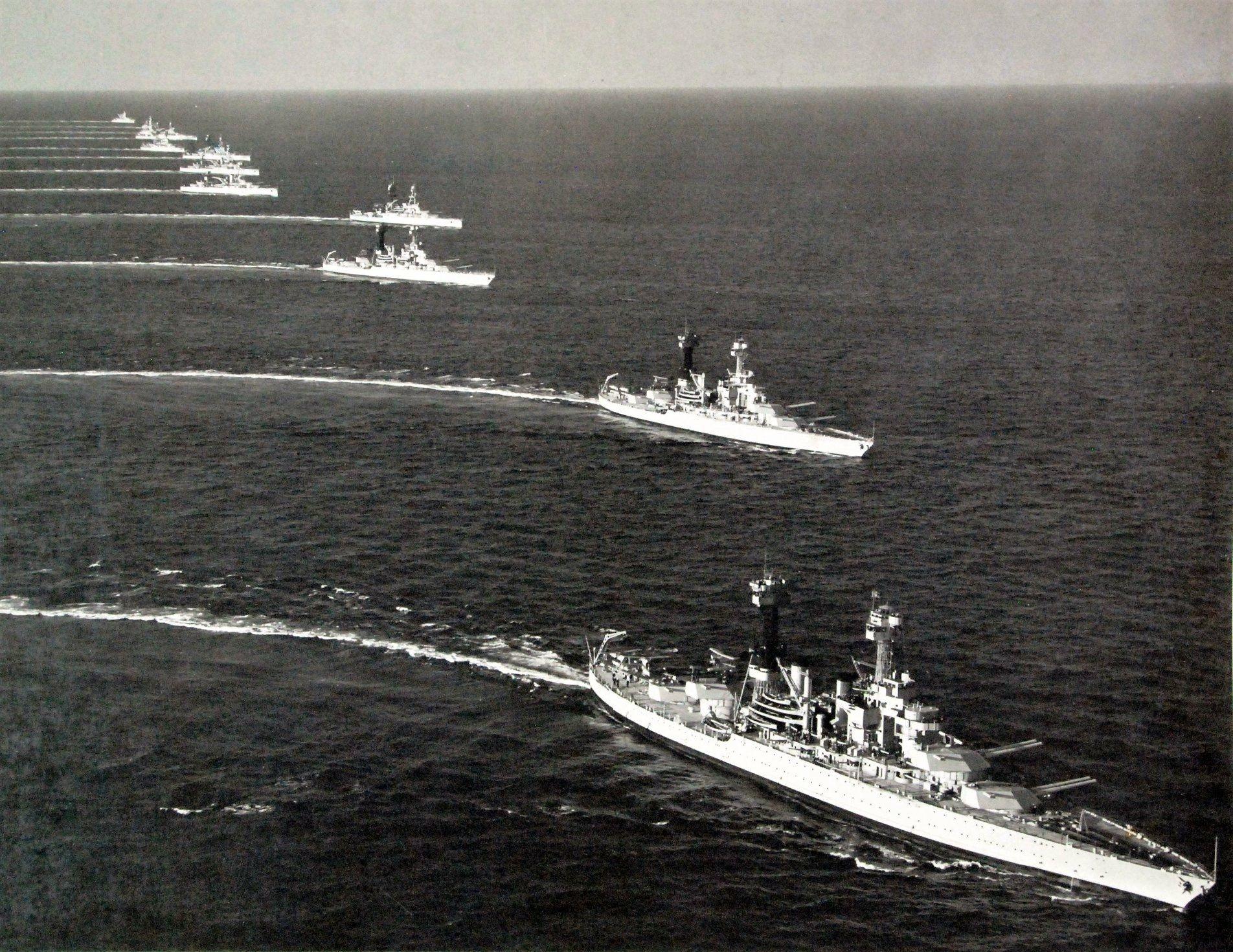 Fleet Manoeuvres May 6th 1937 Location Unknown Battleship Navy Ships Warship