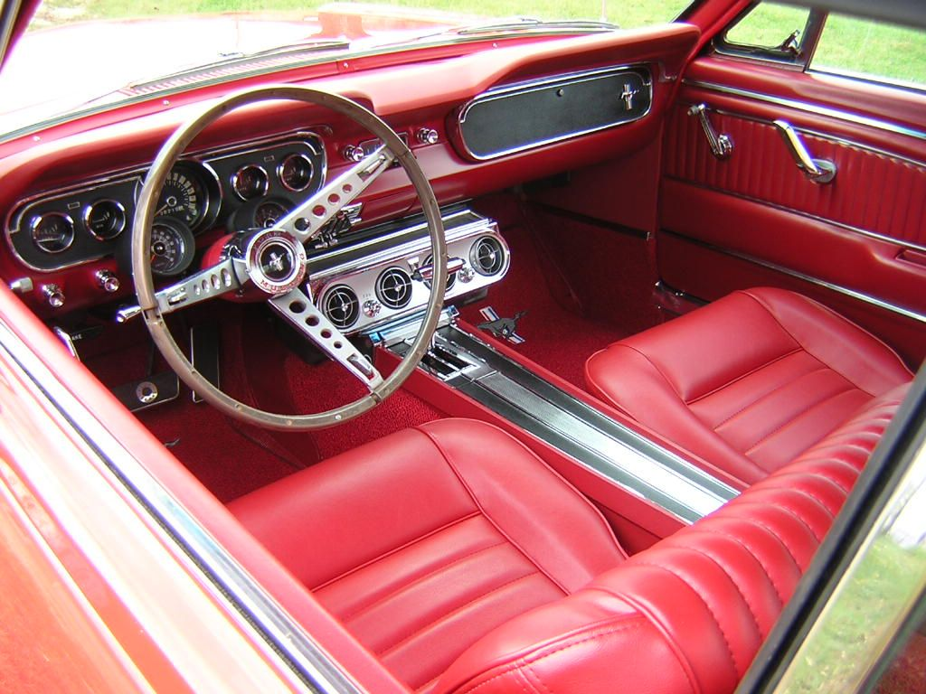 1965 Mustang Gt Coupe With Pony Interior Auto P S A C Pdb