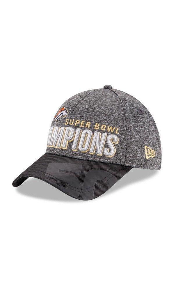a9783a6d8 NFL Youth Denver Broncos New Era Heather Gray/Black Super Bowl 50 Champions  Trophy Collection Locker Room 9FORTY Adjustable Hat #blackfridaysale # ...