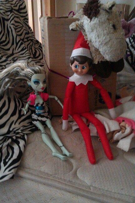 Elf on the Shelf play date
