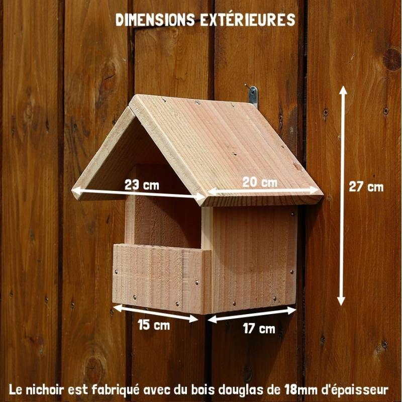 r sultat de recherche d 39 images pour nichoir rouge gorge mangeoires pinterest nichoir. Black Bedroom Furniture Sets. Home Design Ideas