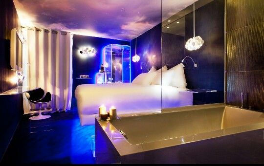 This I Definitely Want To Find Romantic Blue Paris Themed Bedroom