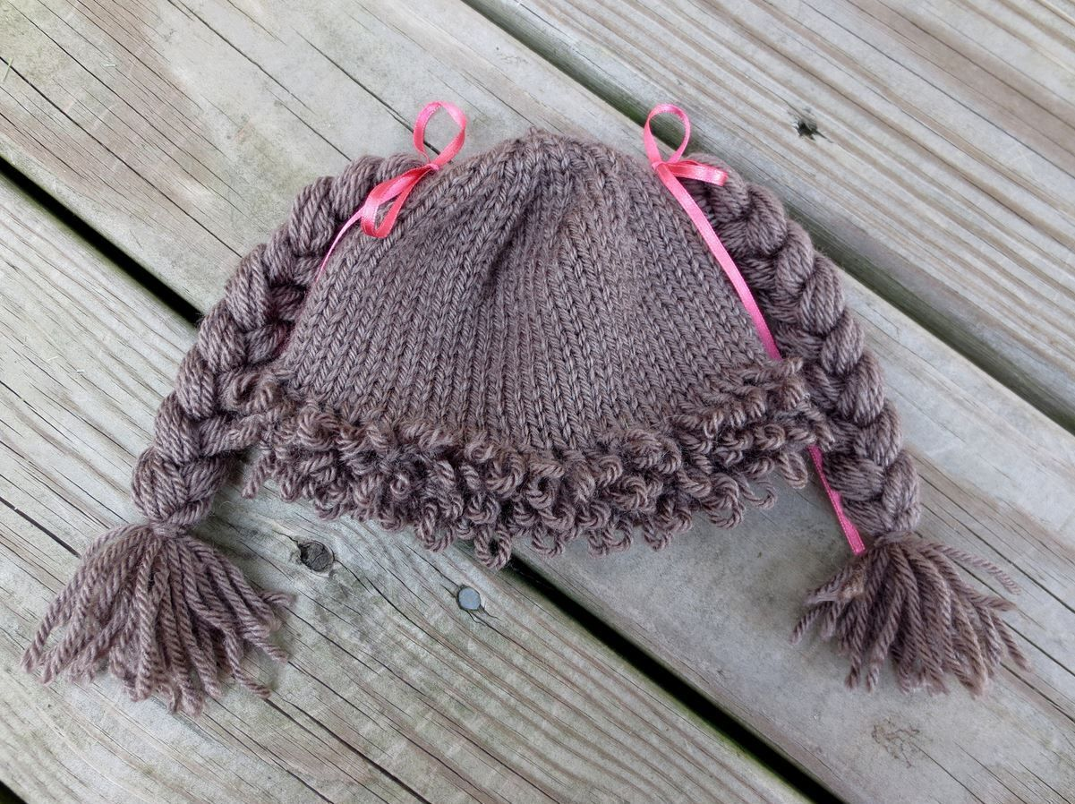 How to Make the Cabbage Patch Kids-Inspired Hat | Cabbage patch kids ...