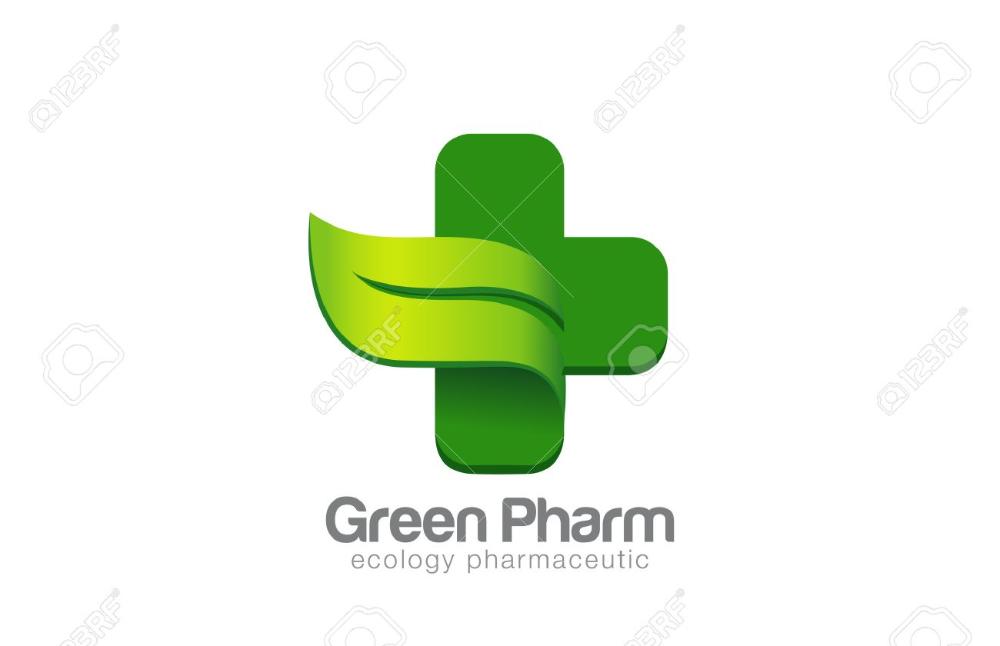 Green Eco Pharmacy Medical Cross Logo Design Vector Template Ecology Medical Logo Design Logo Design Pharmacy Design