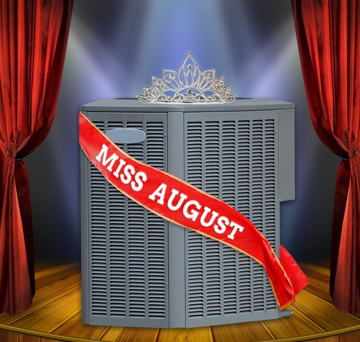 Miss August Air Conditioner Pageant Winner With Her High