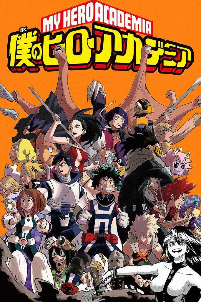 Resultado De Imagen Para Boku No Hero Academia My Hero Academia Poster Hero Poster My Hero Academia