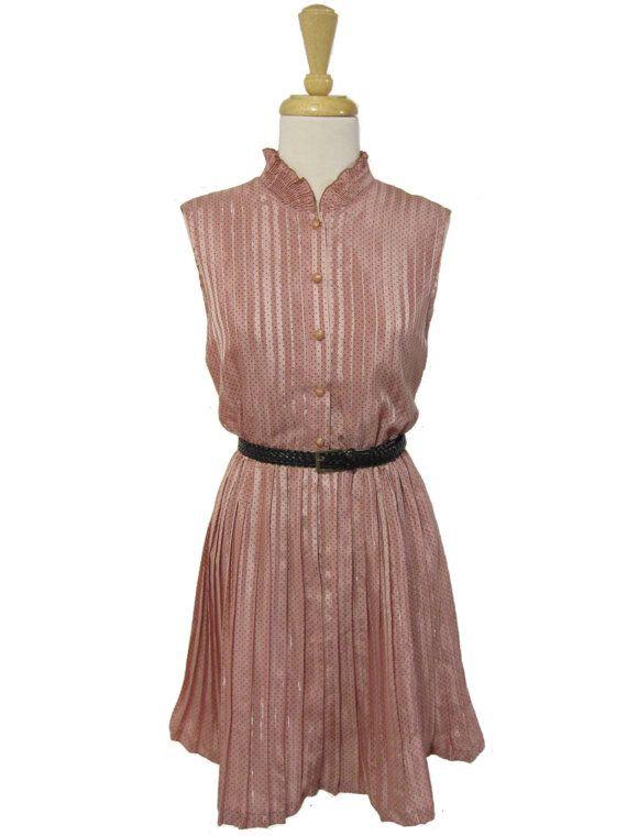 Vintage Strawberry Soufflé Dress by Madame Soufflé