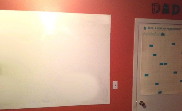 Shower Board From Lowe S As A Cheaper Alternative To Dry Erase Board Dry Erase Whiteboard Tile Board